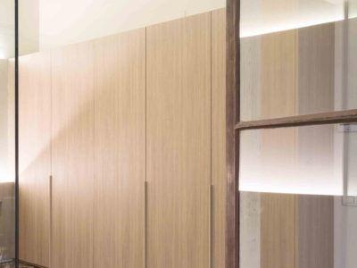 Armarios de las habitaciones laminados de DICA